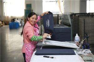 garment bag printing